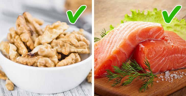 Áp dụng thói quen ăn uống hợp lý và duy trì cân nặng khỏe mạnh.  Tất nhiên, ăn uống lành mạnh có thể ngăn chặn hoặc khôi phục hoàn toàn bộ ngực chảy xệ. Nhưng việc tuân thủ chế độ ăn uống cân bằng sẽ giúp bạn tránh được sự dao động về cân nặng liên tục có thể gây tổn thương thêm cho các mô ở ngực. Ăn nhiều chất béo lành mạnh như cá béo, dầu, các loại hạt và bơ có thể cải thiện tình trạng của làn da của bạn, làm cho ngực trông săn chắc hơn. Ngoài ra, hãy chắc chắn rằng bạn uống nhiều nước để tăng cường độ đàn hồi cho da.