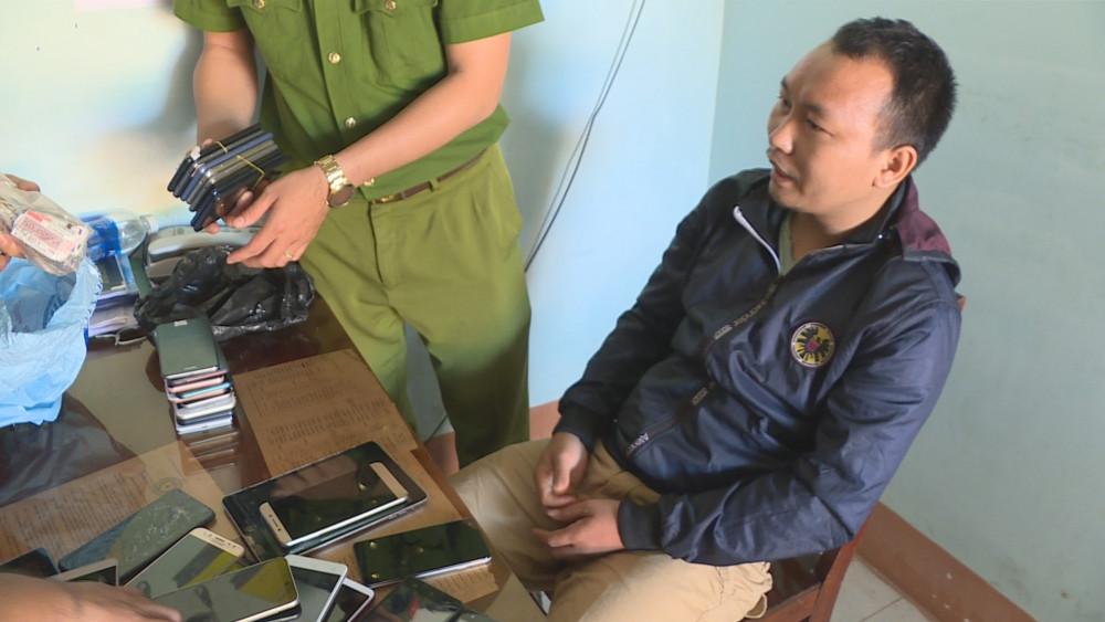 Đối tượng Nguyễn Văn Đạt tại cơ quan điều tra