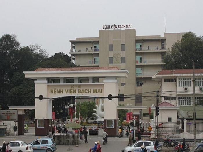 Bệnh viện Bạch Mai, nơi ca bệnh thứ 178 mắc bệnh