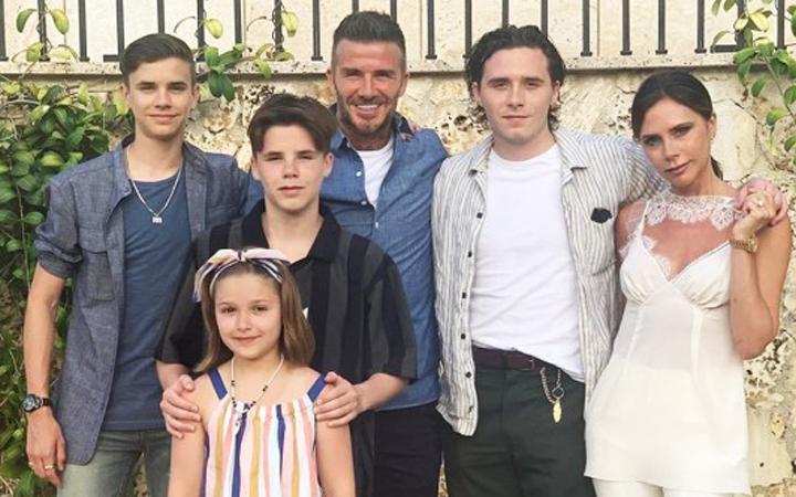 Gia đình David Beckham