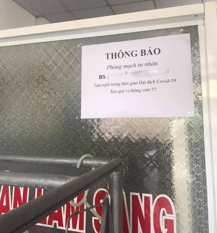 Từ ngày 30/3 tạm ngưng tất cả các hoạt động khám chữa bệnh tại phòng khám đa khoa tư nhân ở TPHCM.