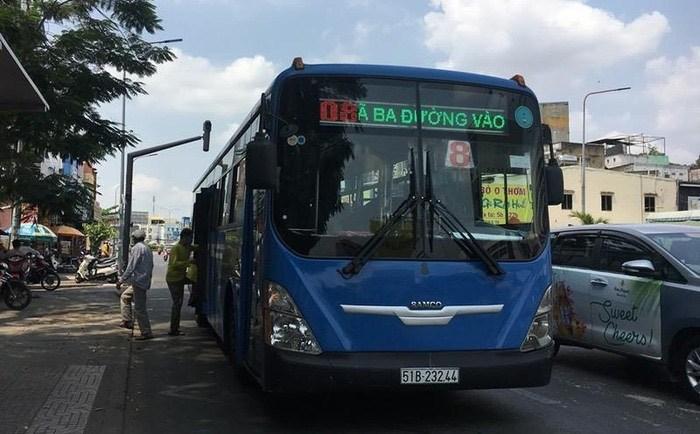 Từ 1/4/2020, TP. Hồ Chí Minh dừng hoạt động xe buýt công cộng. Ảnh: PLO