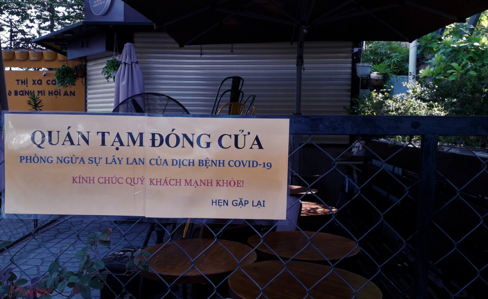 Quán sá Sài Gòn đã đồng loạt đóng cửa để phòng dịch COVID-19. Ảnh: Hoàng Nhiên