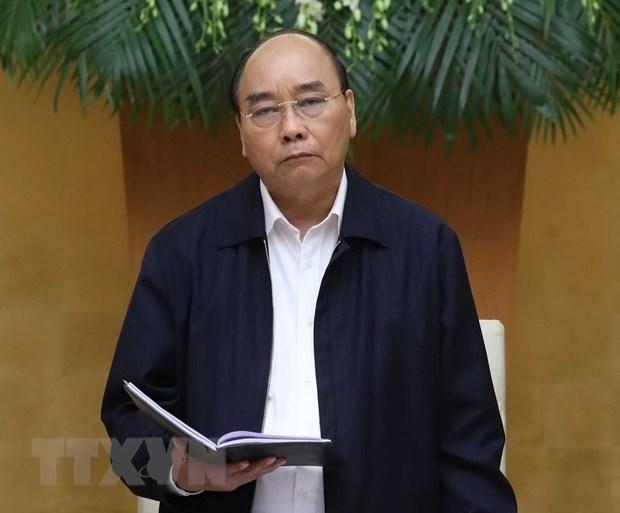 Thủ tướng Nguyễn Xuân Phúc phát biểu - Ảnh: Thống Nhất/TTXVN