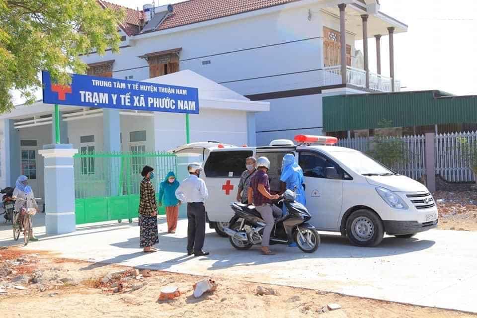 bệnh nh Ninh Thuận trở về từ Malaysia mắc COVID-19 khiến 5.000 của thôn Văn Lâm phải cách ly.