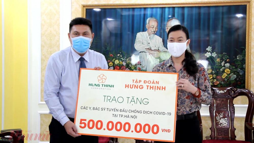 UBMTTQ Việt Nam TPHCM tiếp tục nhận được sự ủng hộ, đóng góp ủng hộ phòng chống dịch COVID - 19 và hạn mặn từ các các nhân, đơn vị.