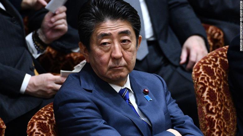 Thủ tướng Shinzo Abe. Ảnh: CNN