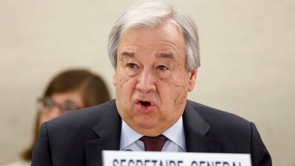 Tổng thư ký LHQ, ông Antonio Guterres, đã đưa ra một cảnh báo nghiêm túc về mối đe dọa coronavirus đối với thế giới.