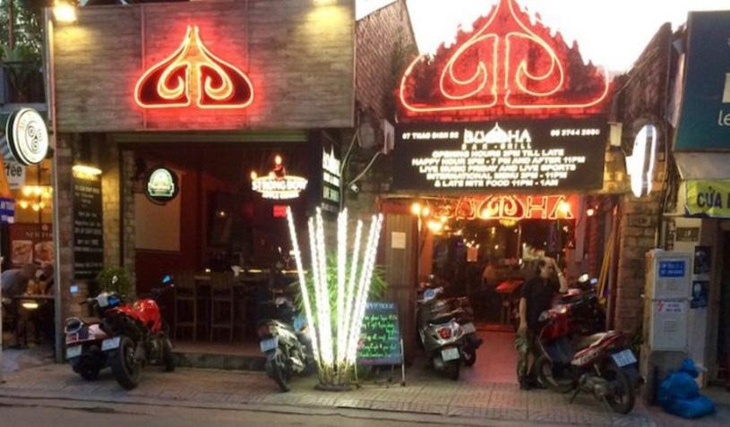 Quán bar Buddha, quận 2, TPHCM