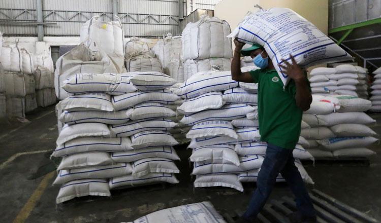 Campuchia hiện đang tạm dừng xuất khẩu gạo. Ảnh: Khmer Times