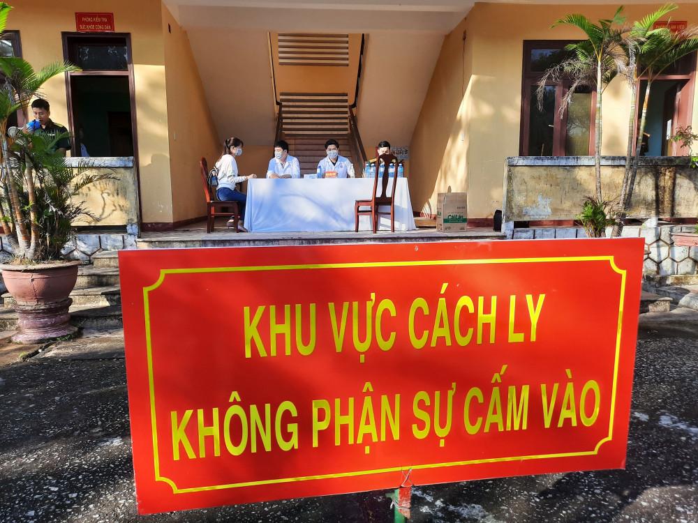 Quảng Nam thực hiện cách ly, lấy mẫu xét nghiệm của 340 người trở về từ TPHCM và Hà Nội