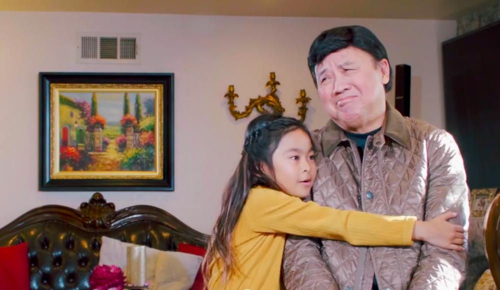 NS ƯT Bảo Quốc và cháu ngoại Gia Linh thực hiện MV động viên mọi người ở nhà trong thời điểm dịch bệnh bùng phát