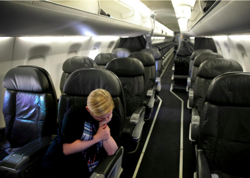 Những chuyến bay chỉ có một hành khách khiến các hãng hàng không ở Mỹ khóc ròng