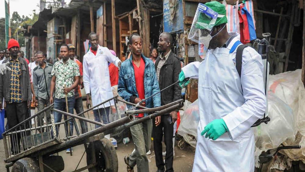 Số ca nhiễm SARS-CoV-2 tăng cao tại châu Phi.