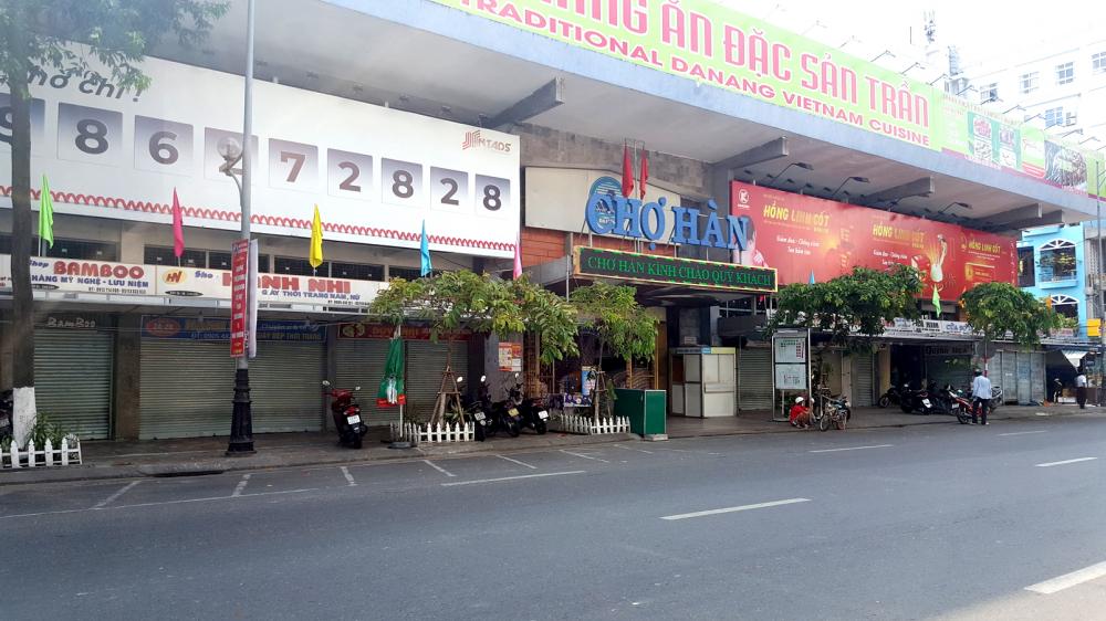 Đường dọc biển, đường Bạch Đằng và chợ Hàn
