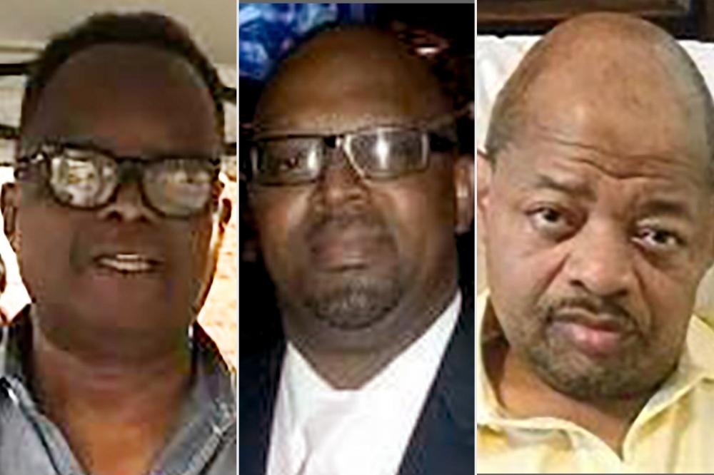 Ba con trai của bà Antoinette Franklin qua đời vì căn bệnh COVID-19. Từ trái sang phải: Herman Franklin Jr., Anthony Franklin Sr. và Timothy Franklin - Ảnh: People