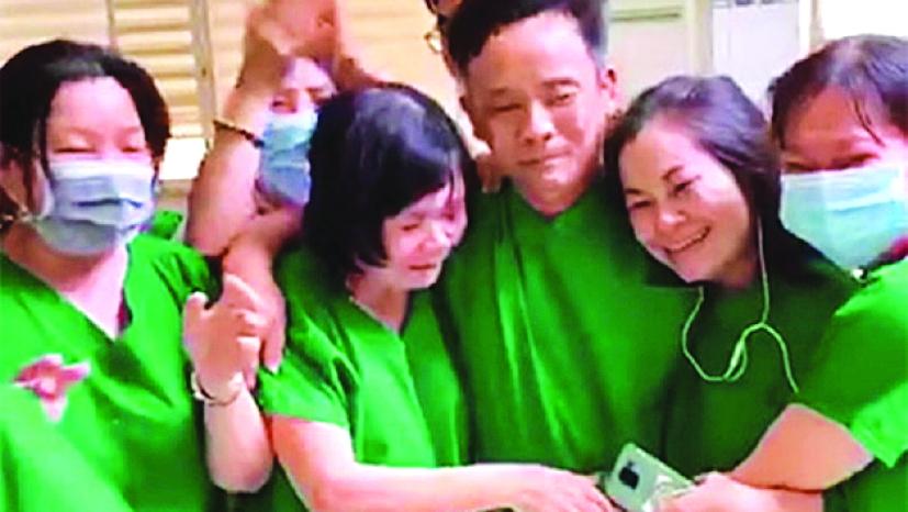Các y bác sĩ đã bật khóc khi bệnh nhân Covid-19 cuối cùng ở Bình Thuận đã âm tính