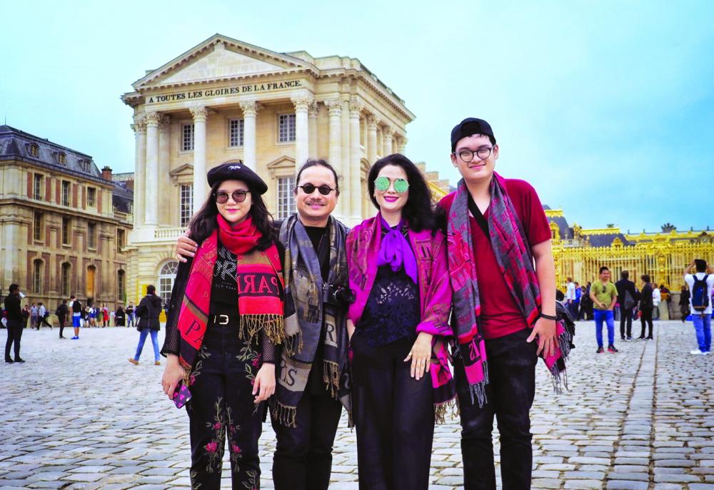Gia đình nghệ sĩ Trần Mạnh Tuấn