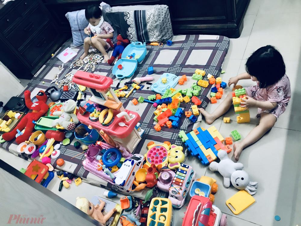 Thế giới của con trong những ngày nghĩ học ở nhà vì COVID - 19