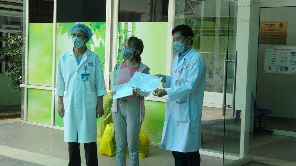 Bệnh nhân xuất viện tại Bệnh viện Đà Nẵng