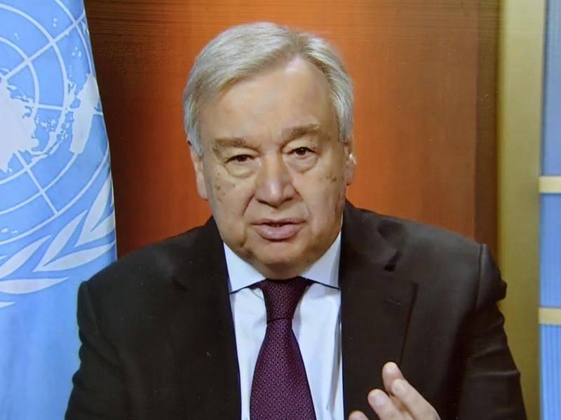 Tổng thư ký Antonio Guterres nói rằng Liên Hợp Quốc phải đối mặt với thử nghiệm nghiêm trọng nhất với virus này.