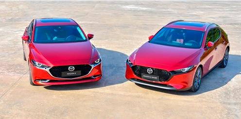 Dòng xe All New Mazda3 bị lỗi phanh