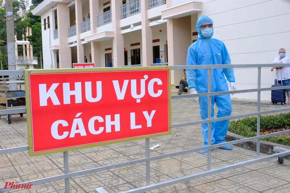 Khu vực cách ly tại Bệnh viện Dã chiến (huyện Củ Chi, TPHCM)