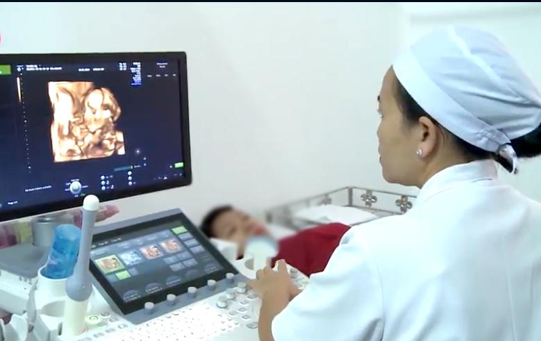 Siêu âm cho thai phụ tại BV Phụ sản thành phố Cần Thơ