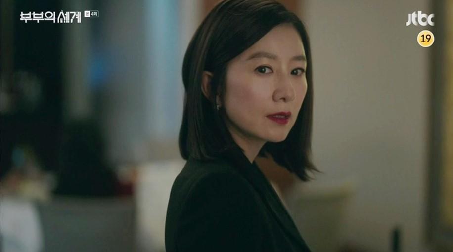 Sự căm phẫn của cô vợ Sun-woo (Kim Hee Ae thủ vai) khi phát hiện chồng ngoại tình.