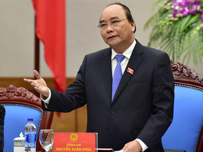 Thủ tướng Nguyễn Xuân Phúc - Ảnh: Quang Hiếu