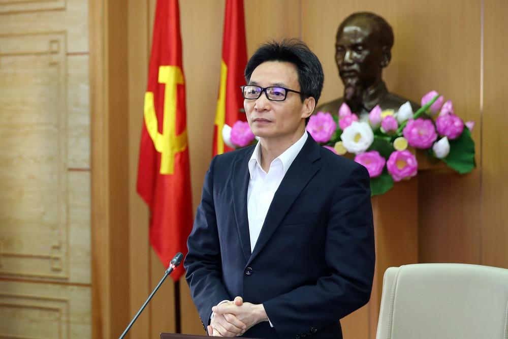 Phó Thủ tướng Vũ Đức Đam, Trưởng Ban chỉ đạo chủ trì cuộc họp.