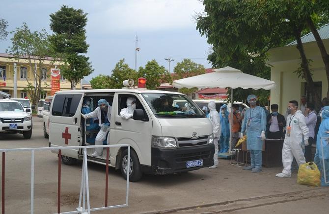 Thêm 2 trường hợp nữa tại thôn Hạ Lôi được phát hiện mắc COVID-19