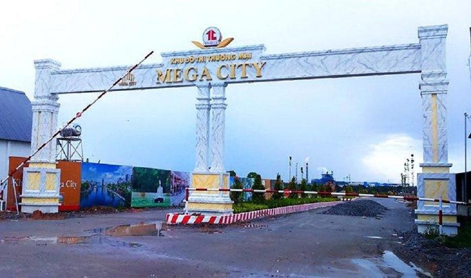Dự án Khu dân cư Cầu Đò hiện được lấy tên thương mại là Khu đô thị thương mại Mega City