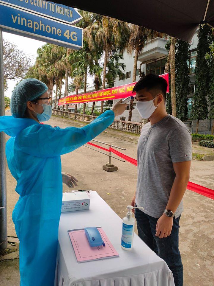 Samsung kiểm tra thân nhiệt nhưng bệnh nhân có sốt vẫn đi làm bình thường