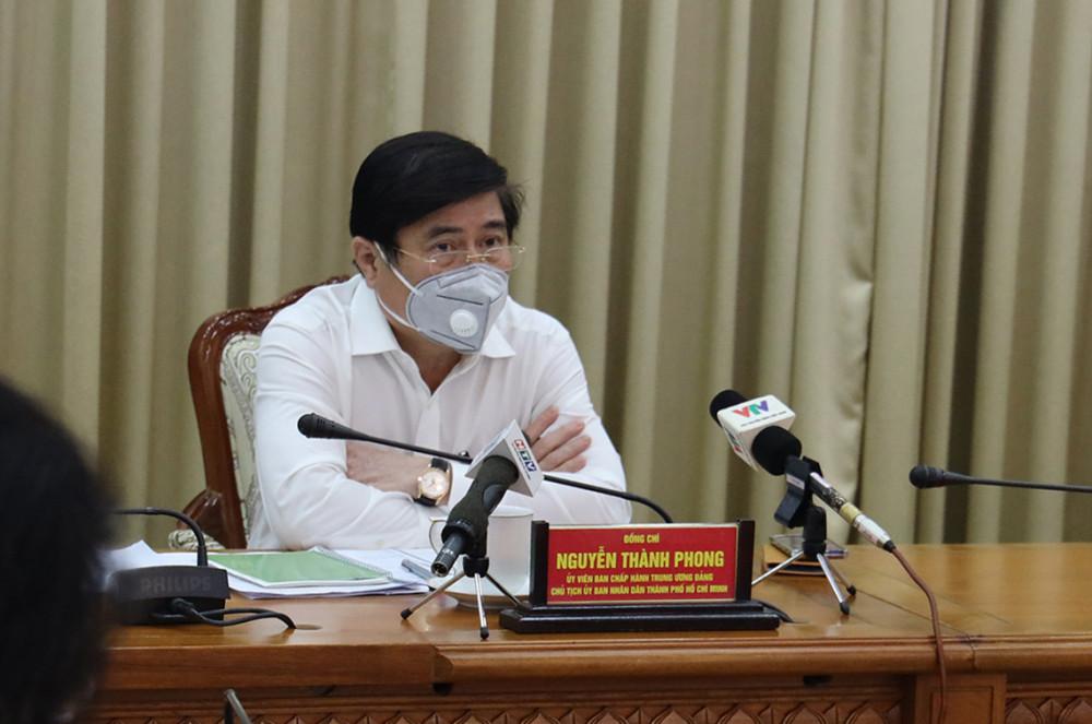 Chủ tịch UBND TP.HCM Nguyễn Thành Phong
