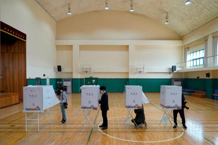 Các cử tri Hàn Quốc