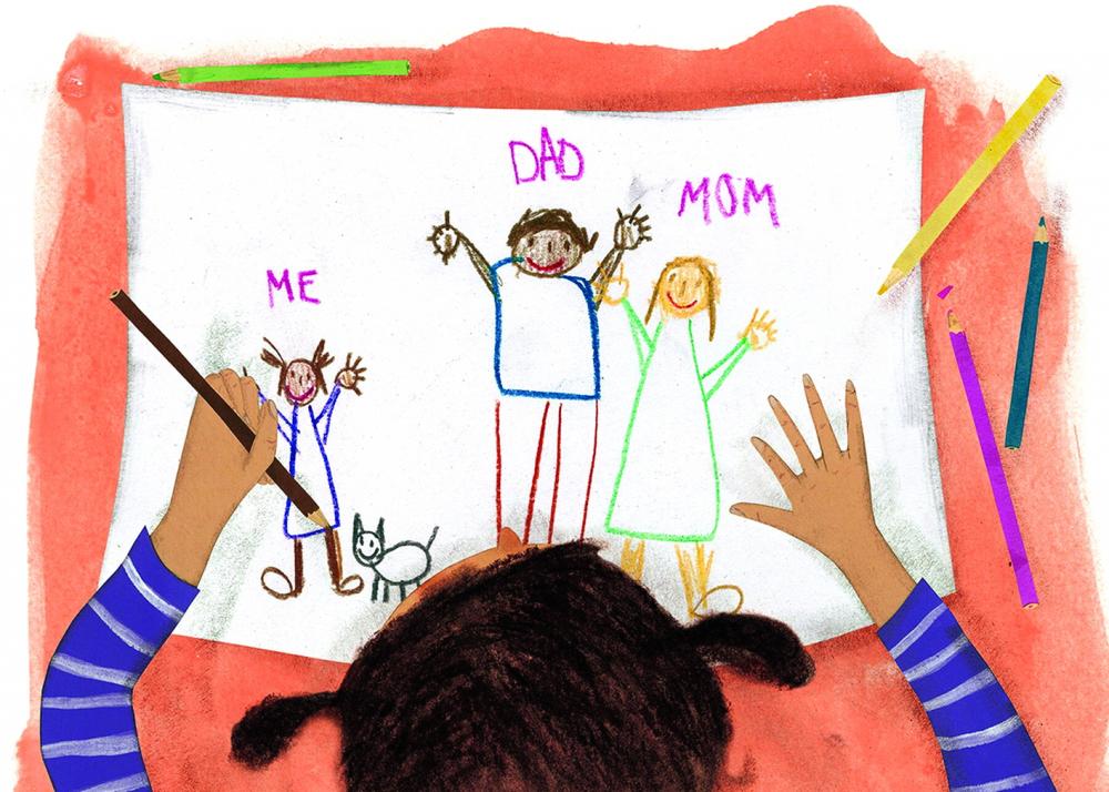 Kamau dạy con vẻ ngoài không nhất thiết là cách duy nhất để  nhận dạng