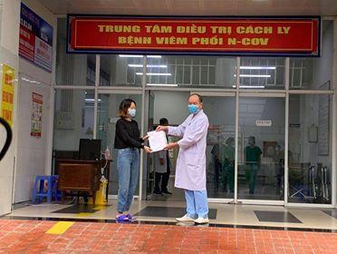 2 bệnh nhân mắc COVID-19 điều trị tại Bệnh viện số 2 Quảng Ninh đã khỏi bệnh, xuất viện