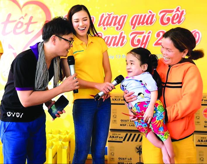 Châu Thành Toàn chọn hoạt động thiện nguyện là sự nghiệp cả đời