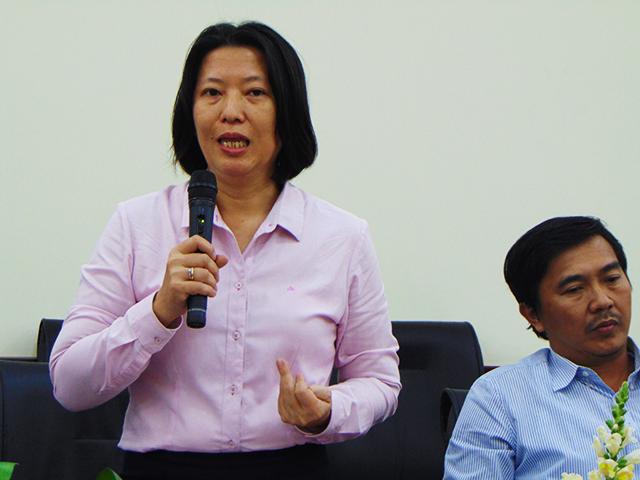 PGS.TS Hạ Thị Thiều Dao giữ chức Phó Hiệu trưởng Trường ĐH Ngân hàng TP.HCM từ 15/4