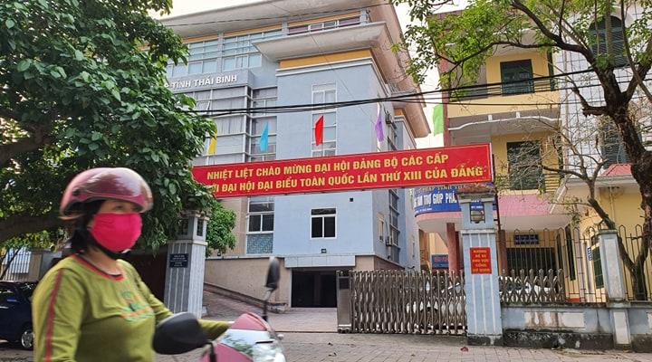 Sở Tư pháp tỉnh Thái Bình