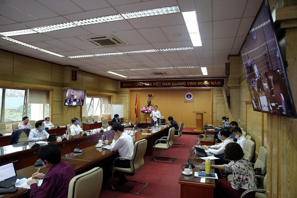Toàn cảnh cuộc họp của Ban chỉ đạo Quốc gia.