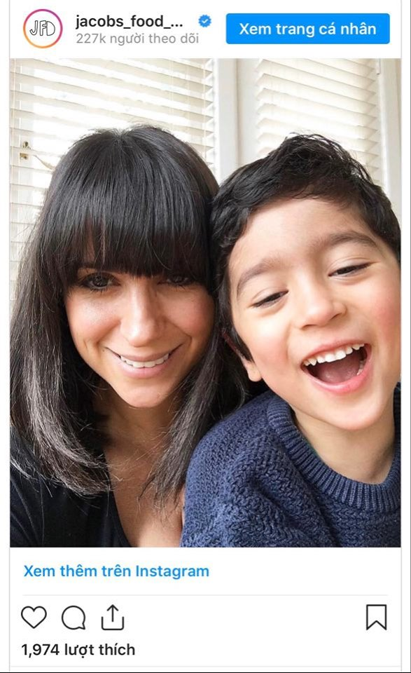 Laleh Mohmedi và con trai