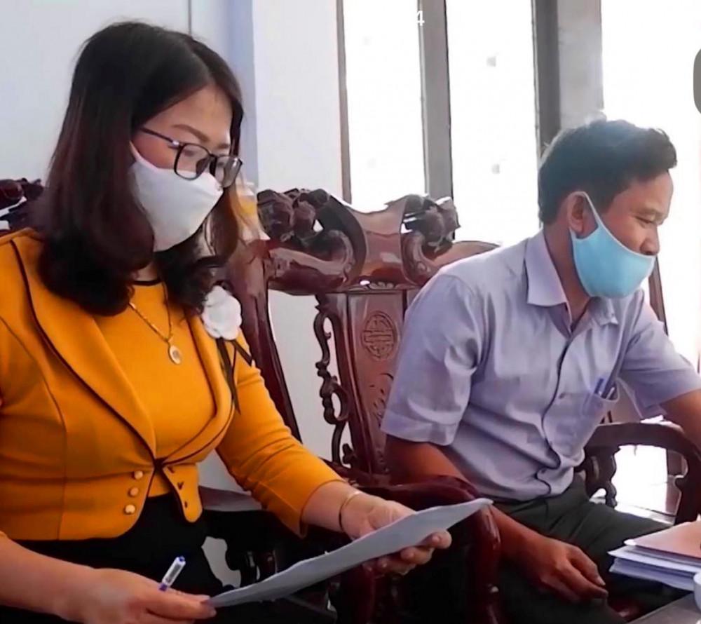 Ông Phan Cảnh Ngưu, Chủ tịch Ủy ban Mặt trận Tổ quốc huyện cho biết sẽ chờ Thường vụ huyện Quảng Điền tính đến phương án giải quyết khắc phục