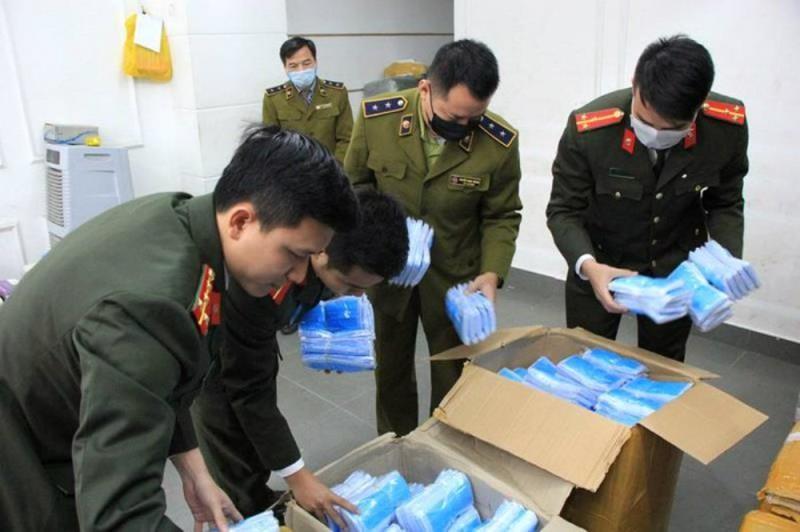 200.000 chiếc khẩu trang ba không bị thu giữ tại Bắc Ninh