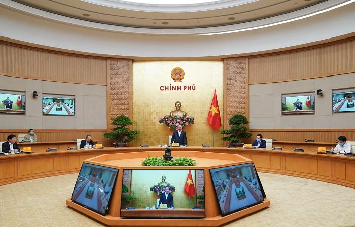 Toàn cảnh buổi làm việc của Chính phủ và Hà Nội.