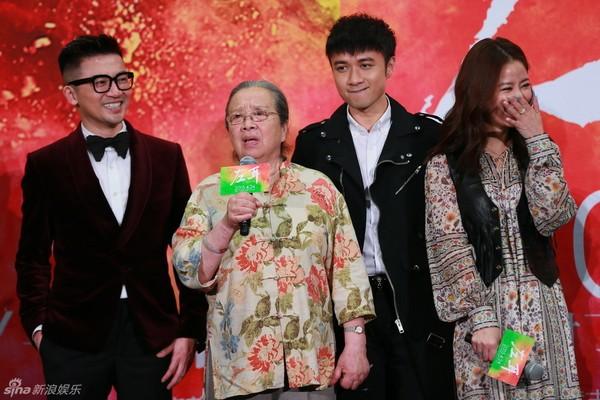 Lý Minh Khải trong một chương trình hội ngộ dàn diễn viên Hoàn châu công chúa