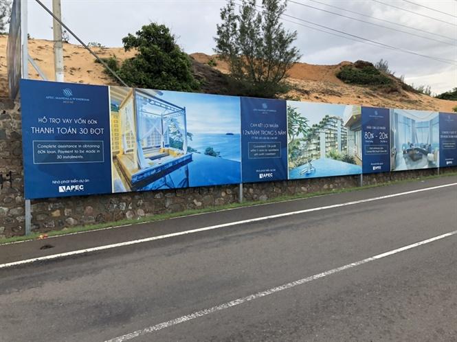 Dự án Apec Mandala Wyndham Mũi Né giao dịch mua bán căn hộ không theo nguyên tắc mua bán nhà