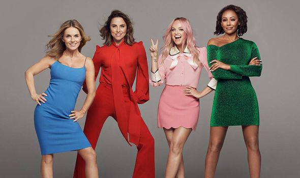 Spice Girls phiên bản 4 thành viên.