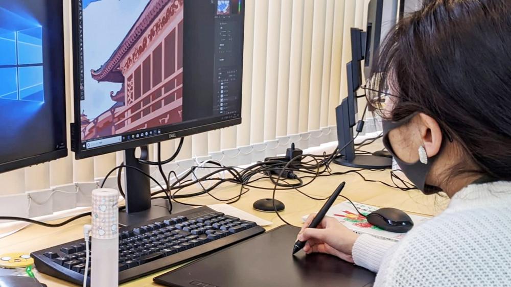 Một họa sĩ Nhật đang làm việc cho hãng Colored Pencil Animation Japan
